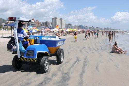 Limpeza das praias terá operação especial do Governo do Estado