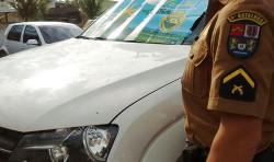 Policiais de Matinhos recuperam caminhonete roubada